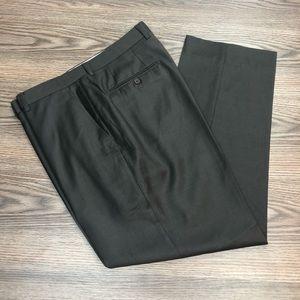 Santorelli Espresso Brown Dress Pants 36x30